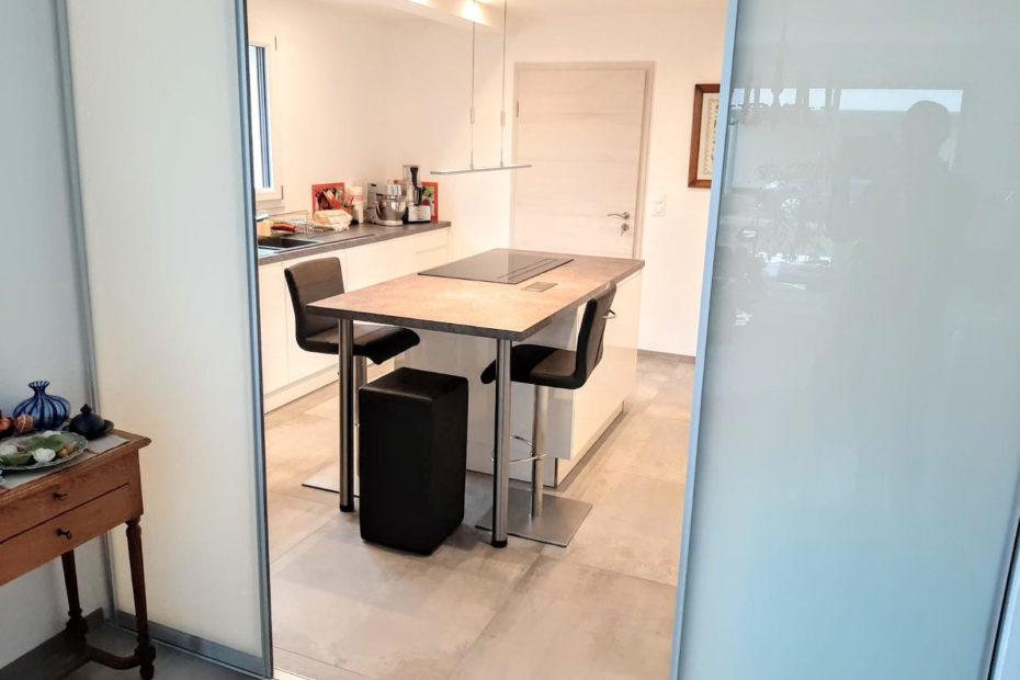 cuisine et portes coulissantes RJHOME